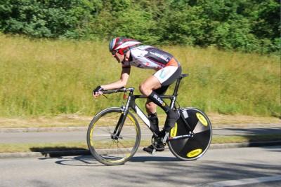 1. Platz beim Einzelzeitfahren Europacup Gippingen / Schweiz am 07.06.2009