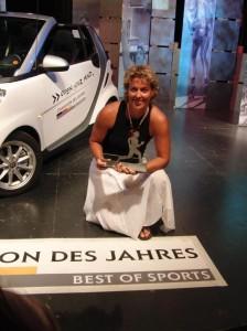 Champion des Jahres 2009 - Steffi Nerius